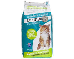 Breeders Choice recycled paper litter 30 L (pick-up only)