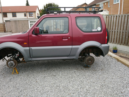Jimny 4WD issue resolved