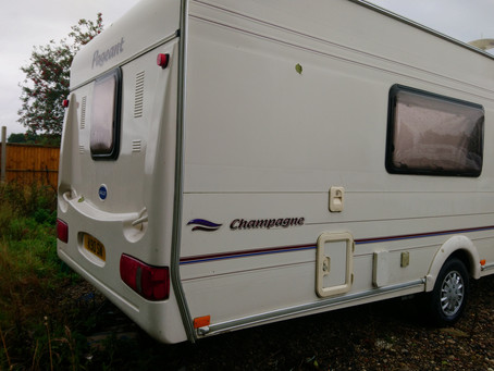 Caravan review - Bailey Pageant Champagne