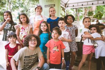 Crianças no Agroserra Niterói