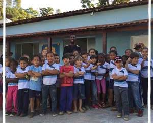 Festival Agroserra promove oficinas em escolas de Secretário e Inconfidência Durante três semanas, e
