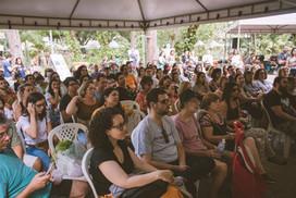 Público no workshop de Izabel Alvares