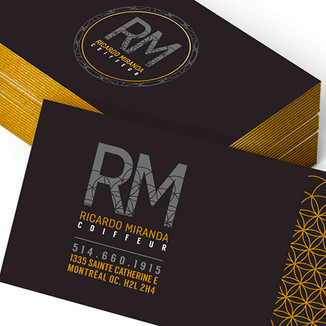 BUSINESS CARDS - RICARDO MIRANDA
