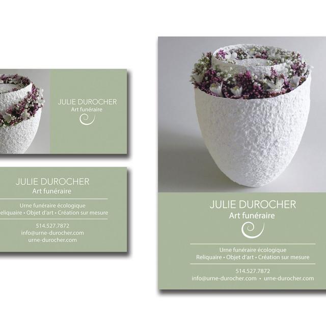 Presentation cards - Julie Durocher