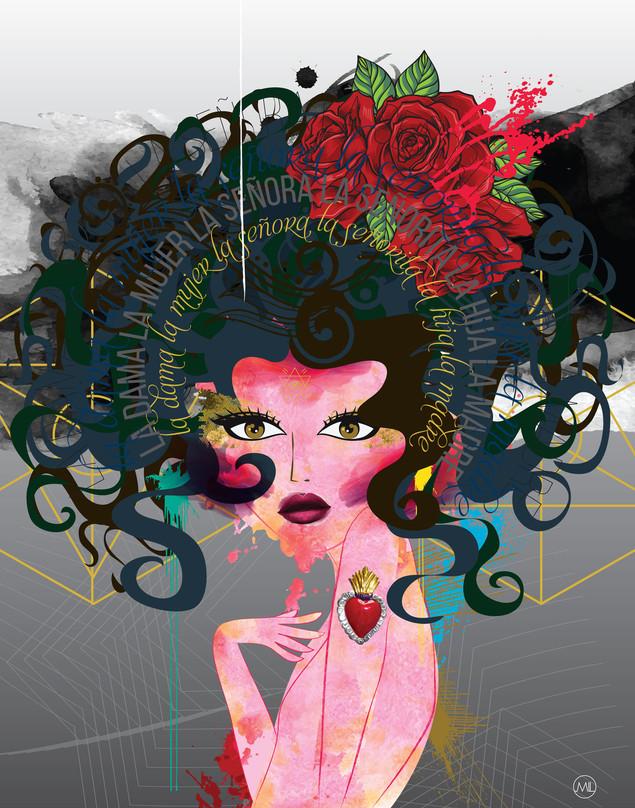 LA MUJER - The woman