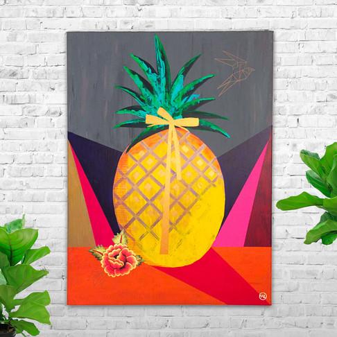 FLOR DE PIÑA - The pineapple flower