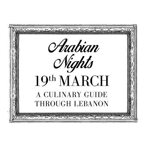 Ticket - Arabian Nights