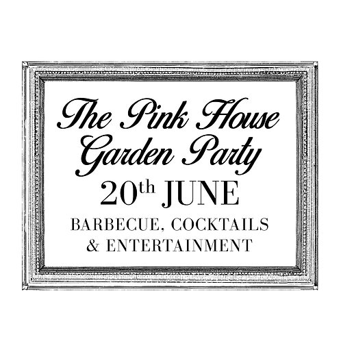Ticket - The Pink House GardenParty