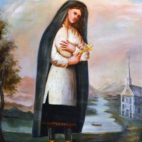 St Kateri Tekakwitha (1656-1680)