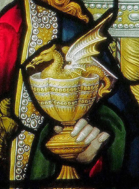 The chalice of St John the Evangelist