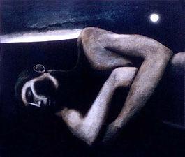 Adam Sleeping by Michael O'Brien