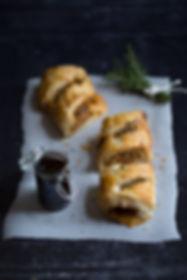 Katia Wlodarczak Food Photographer, Bedford - sausage rolls