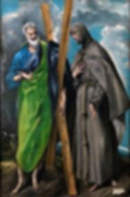 Saint Andrew and Saint Francis
