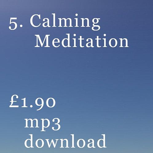 5. Calming Meditation
