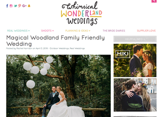 A Wonderful Whimsical Wedding