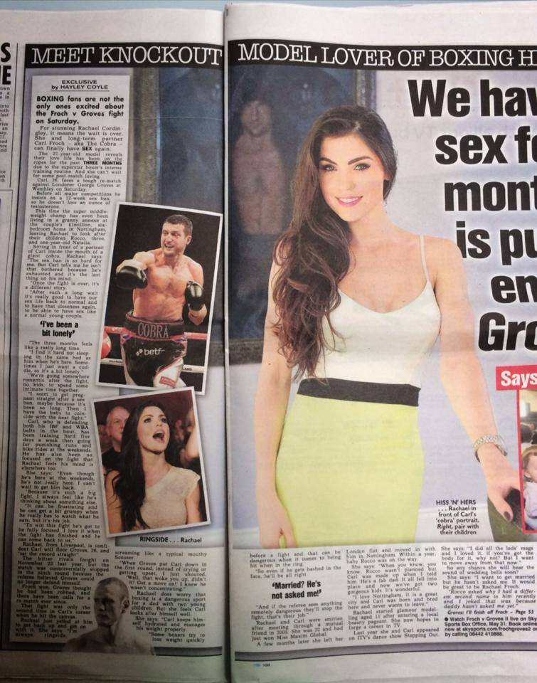 The Sun Newspaper Shoot
