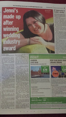 Nottingham Evening Post Feature