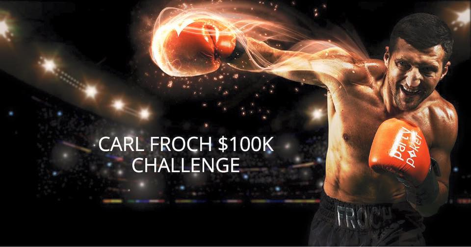 Carl Froch for Party Poker
