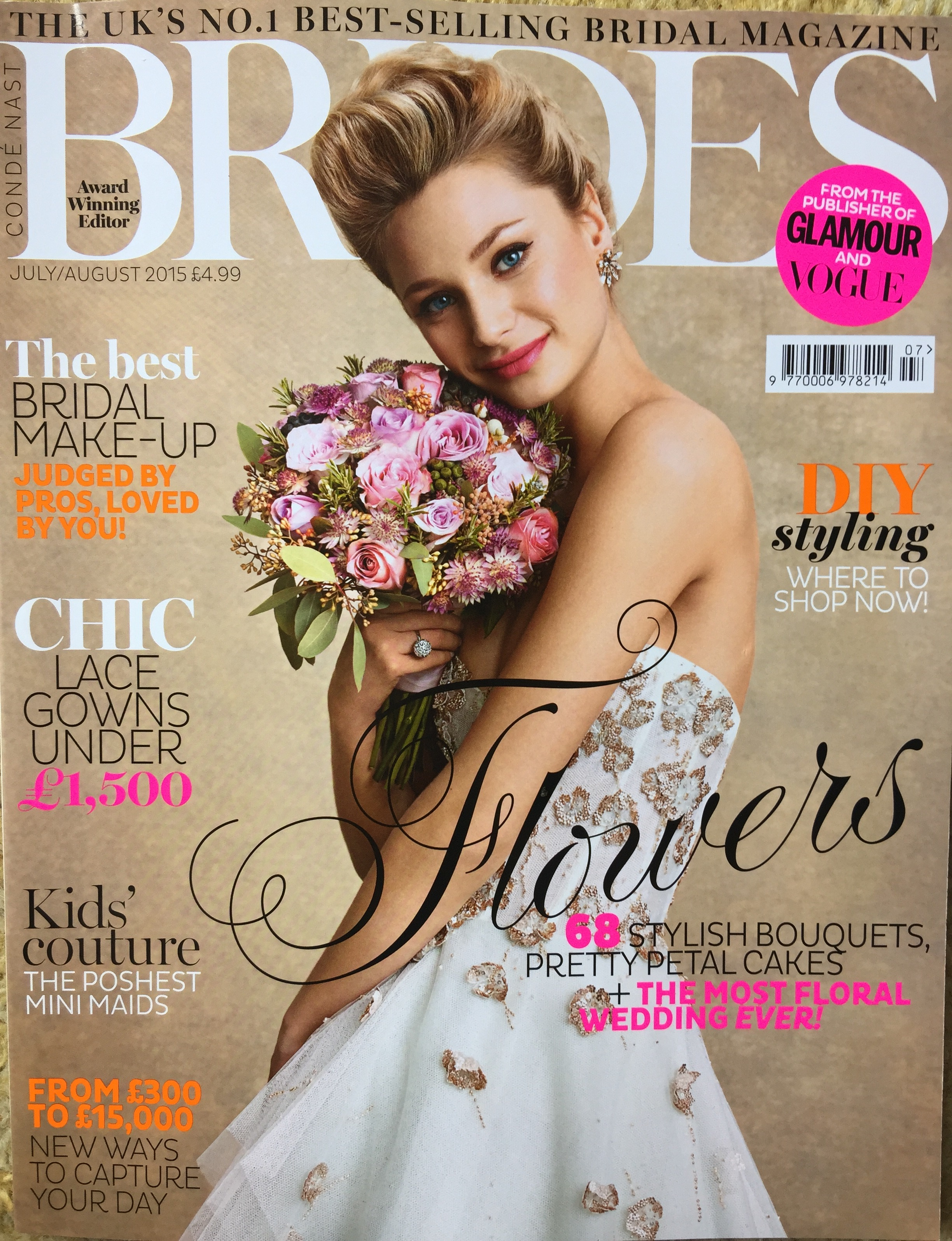 BRIDES Magazine July/August 2015