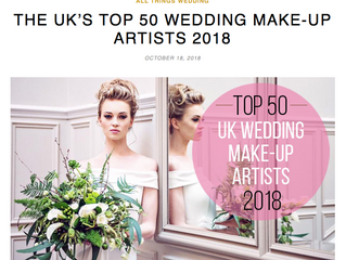 Make Up By Jenni - Top 50 UK Makeup Artist for the 4th year!