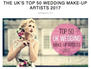 Top 50 UK Wedding Makeup Artists 2017