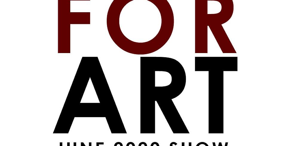 "Call For Art:  June Show ""Modern Mania"""