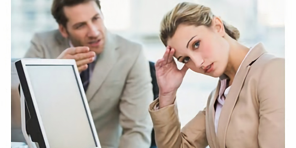Webinar: Dealing with Difficult People in Today's Work Environment