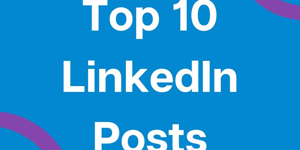 Top 10 LinkedIn Posts