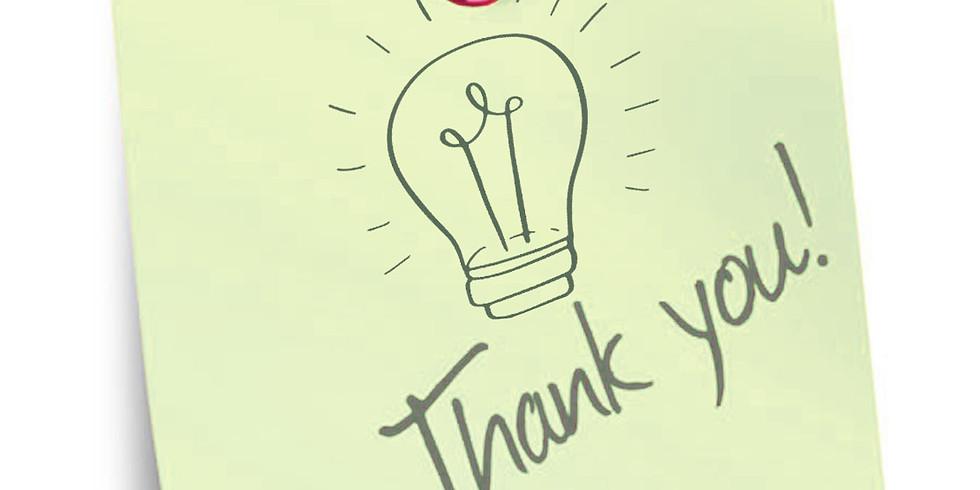 Webinar:  Expressing Gratitude in Your Business