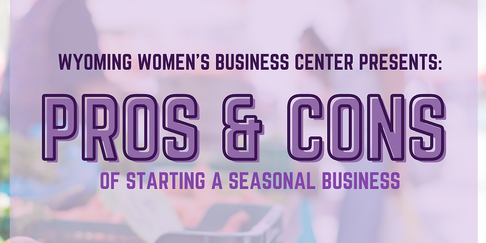 Pros and Cons to Starting a Seasonal Business