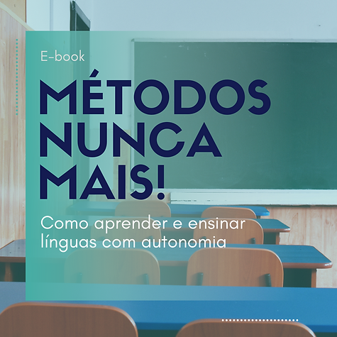E-book MÉTODOS NUNCA MAIS divulgação sem