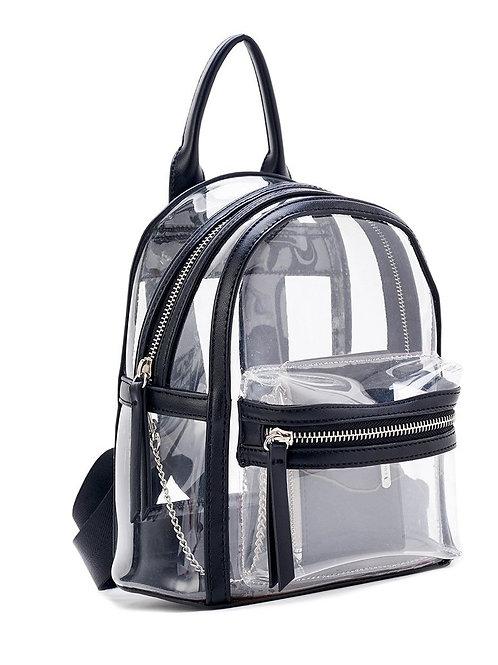 Clear Mini Backpack Very Soft