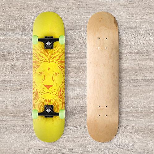 Lion Skateboard Wrap