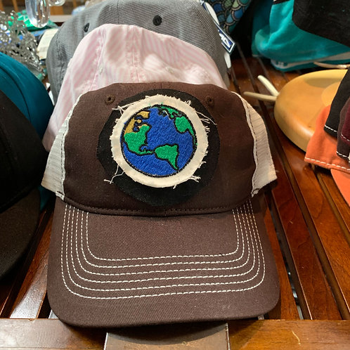 Earth Applique Hat