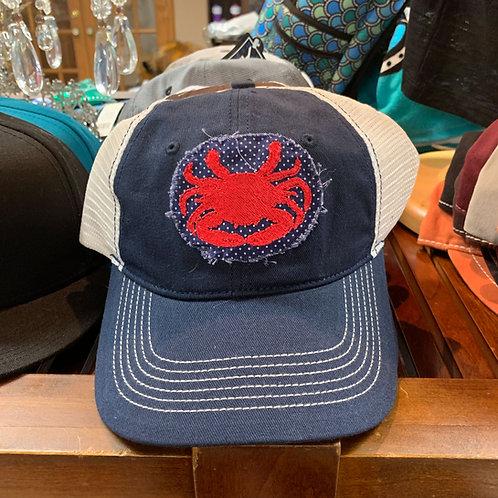 Crab Applique Hat