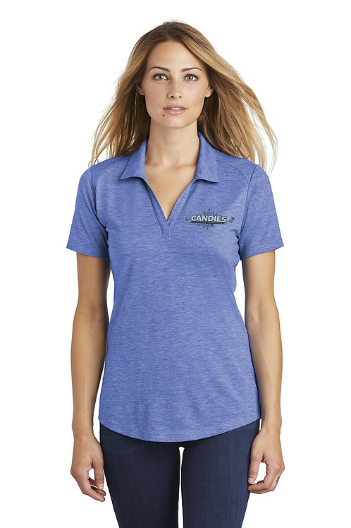 Lady's Heathered Polo