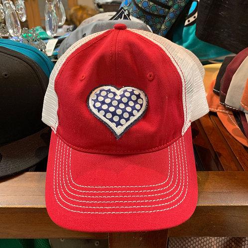 Heart Applique Hat