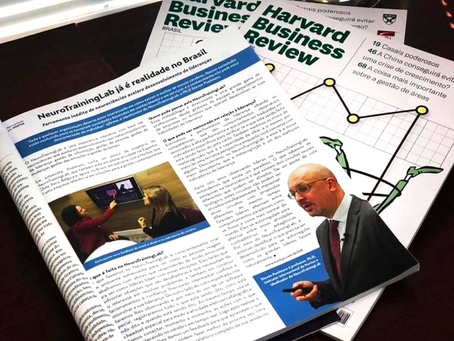 Harvard Business Review Brazil publishes an article on the NeuroTrainingLab™