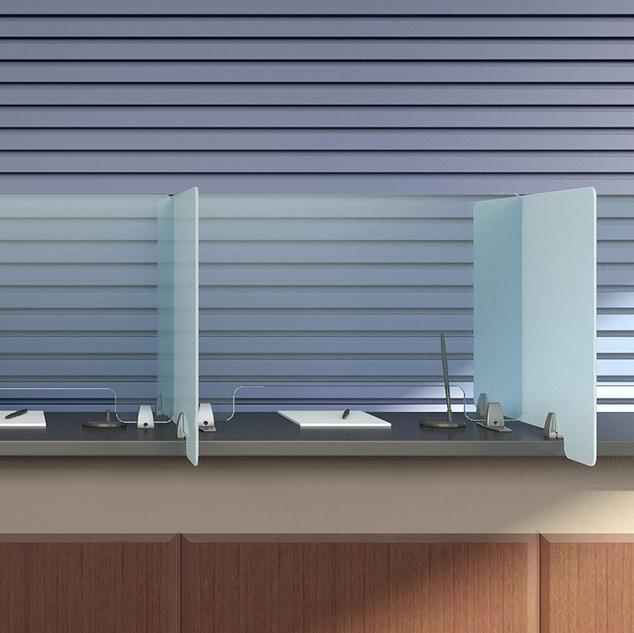 Desktop Sneeze Guard