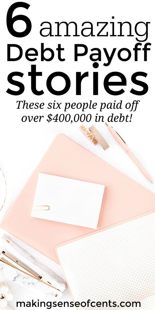 Do you want to learn how to become debt free? Here are 6 great stories about how families reached debt free living and learned how to get out of debt fast.