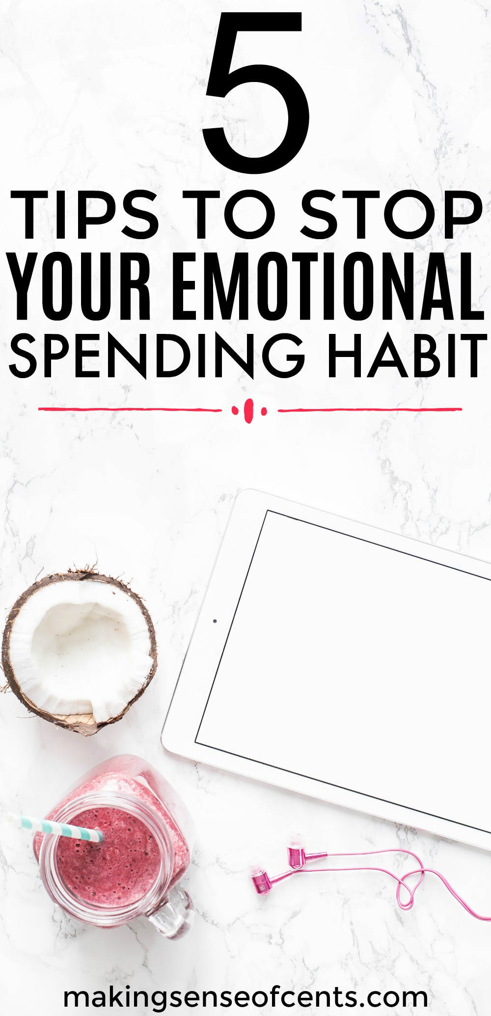 Find out how to stop your emotional spending habits for good!