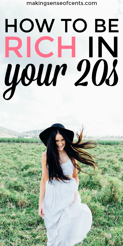 Saving money in your 20s is a great idea and I don't want anyone to make you believe otherwise. Start saving in your 20s today!