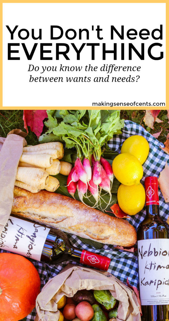 Confusing wants and needs is a behavior that holds many people back and prevents them from saving money. Knowing the difference can change your perspective!