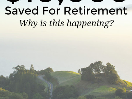 56% Of Americans Have Less Than $10,000 Saved For Retirement