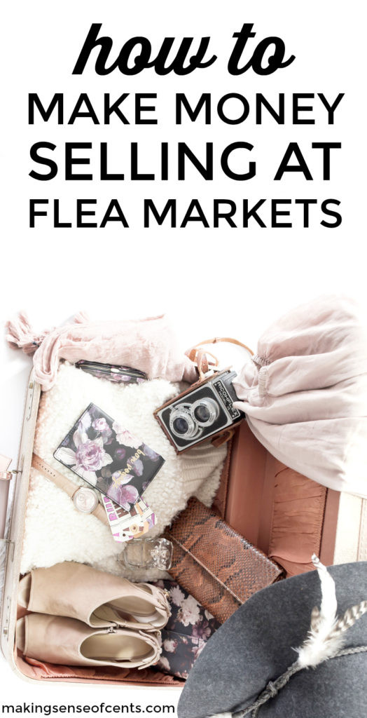 Do you want to know how to make money selling at flea markets? Here's exactly how Shannon does so at local flea markets and what sells best at flea markets. These are some great tips!