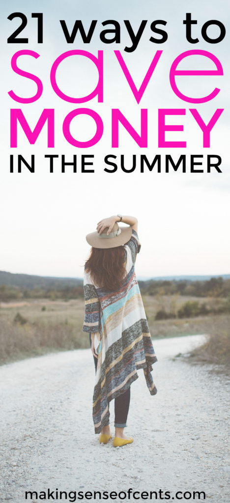 Looking to learn how to save money in the summer but still have fun? Summer is an expensive time, but you don't have to go broke in order to have fun!