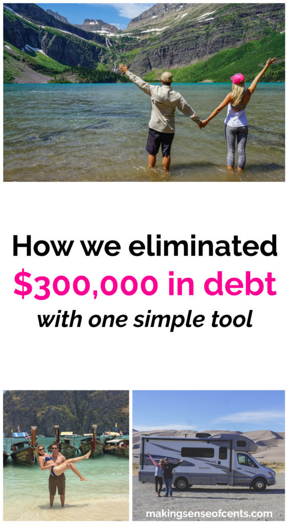 How we eliminated $300,000 in debt with one simple tool