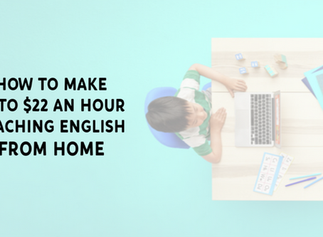 Make Extra Money By Learning How To Teach English Online
