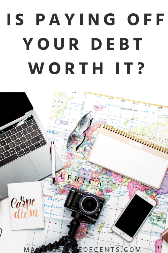 Is Paying Off Your Debt Worth It? #payoffyourdebt #debt