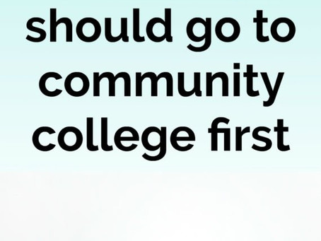 I Thought I Was Too Good For Community College